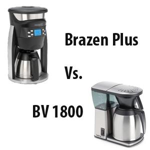 Bonavita Coffee Maker 1800 Vs 1900 : Coffeemaker Showdown: Brazen Plus vs Bonavita BV1800