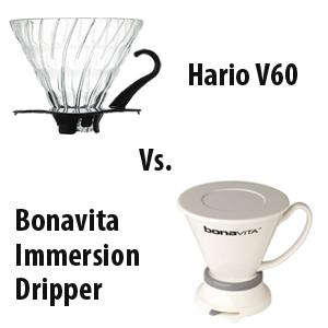 Coffeemaker Showdown 003: Hario V60 vs. Bonavita Immersion Dripper