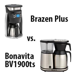 Bonavita Coffee Maker 1900 Td : Coffeemaker Showdown: Brazen Plus vs. Bonavita BV1900ts