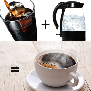 Coffee Experiment: Making Hot Coffee With Cold Brew Coffee Concentrate