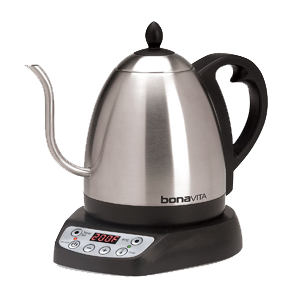 Coffee Kettle Review: Bonavita Variable Temperature Electric Gooseneck Kettle