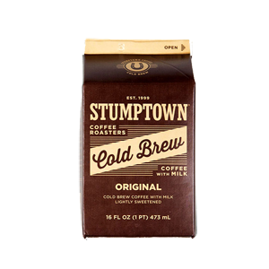 Stumptown Cold Brew With Milk