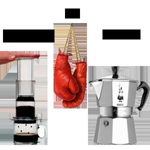 Coffee Maker Vs Coffee Press : Coffee Maker Comparisons The Coffeemaker Showdown Series