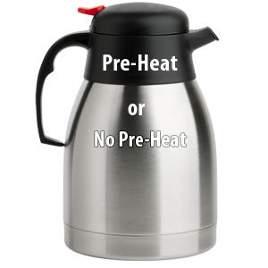 Coffee Experiment: Pre-Heating Thermal Carafes