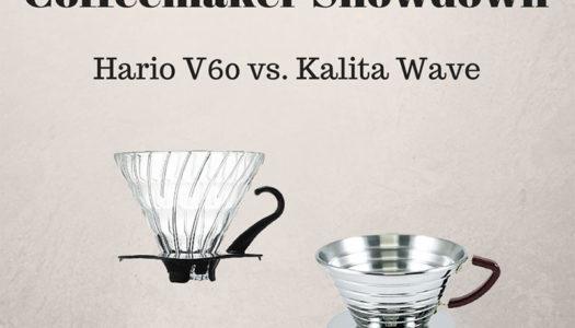 Coffeemaker Showdown 006: Hario V60 vs. Kalita Wave 185