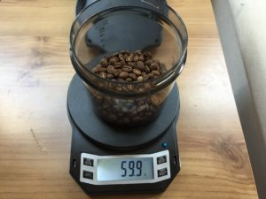 Dosing 60g of Coffee