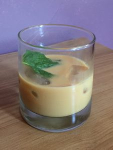 Homemade Mint Mojito Iced Coffee