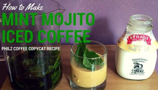 Coffee Recipe: How To Make Philz-Like Mint Mojito Iced Coffee (Copycat)