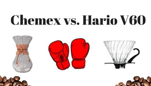 Coffeemaker Showdown 009: Chemex vs. Hario V60