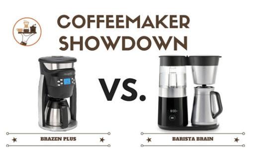 Coffeemaker Showdown 010: OXO On Barista Brain vs. Behmor Brazen Plus