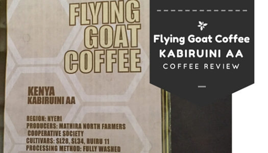 Coffee Review: Flying Goat Coffee – Kenya Kabiruini AA