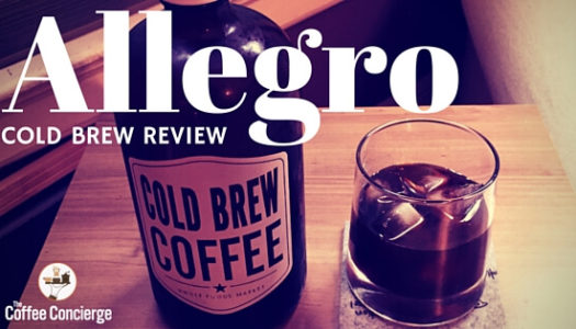 Cold Brew Coffee Review: Allegro Coffee Roasters