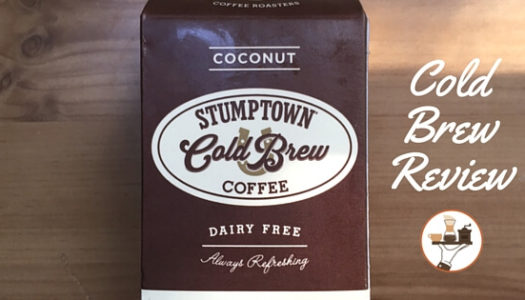 Cold Brew Coffee Review: Stumptown Coconut Cold Brew