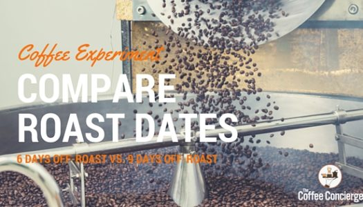 Coffee Experiment: Comparing Espresso 6 Days Off-Roast vs. 9 Days Off-Roast