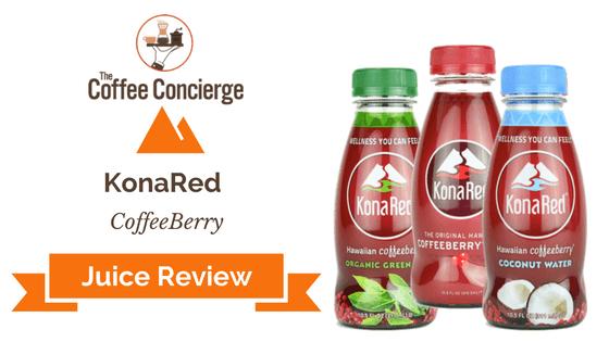 KonaRed Juice Review