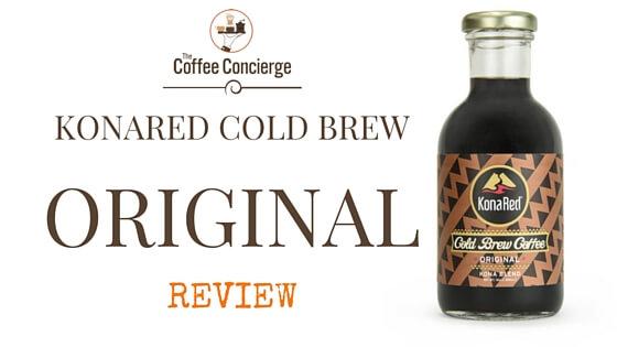 KonaRed Original Cold Brew Review
