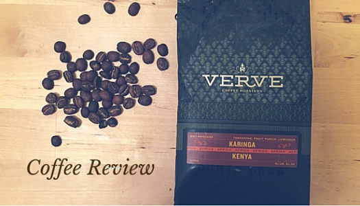 Coffee Review: Verve Coffee Roasters – Kenya Karinga