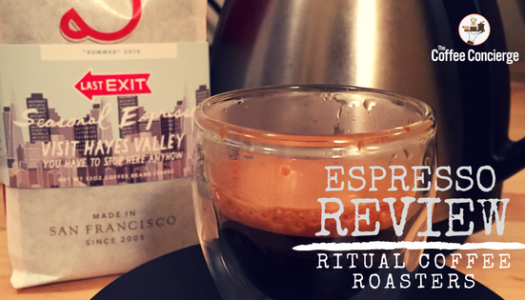 Coffee Review: Ritual Coffee Roasters – Last Exit Seasonal Espresso Blend