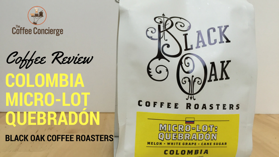 Black Oak Coffee Roasters - Colombia Quebradon