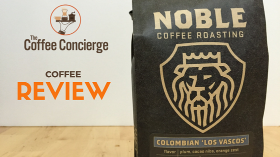 Noble Coffee Colombia Los Vascos