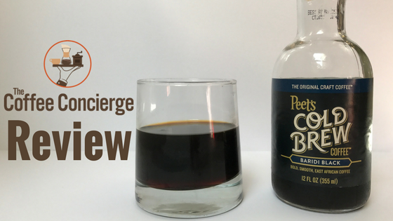 Peet's Coffee Baridi Black Cold Brew Review