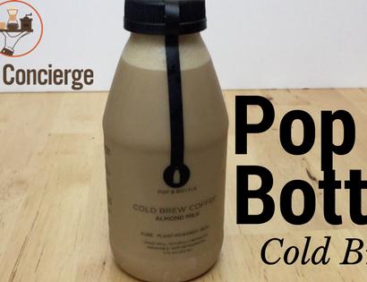 Pop & Bottle Almond Milk Cold Brew