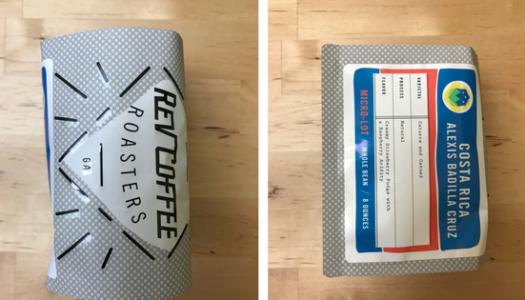 Rev Coffee Roasters – Alexis Badilla Cruz (2016) Coffee Review